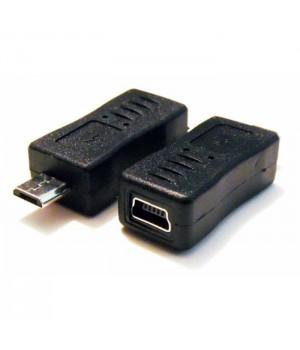 Переходник с мамы mini USB к папе micro USB